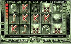 play horror slots now